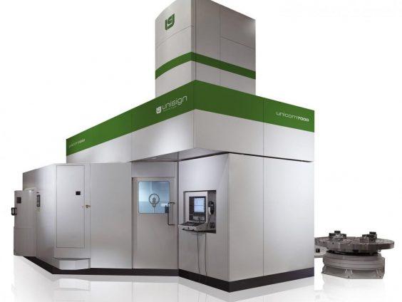 UNICOM7000-XL Large Vertical machining and turning center